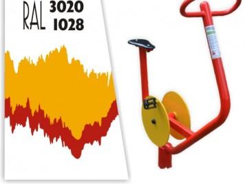 červeno-žltá