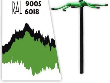 čierno-zelená