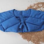 Hrejivy vankusik na ramena z obilia